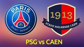 Paris Saint Germain vs SM Caen Full Match - Ligue 1 2018/19 | Gameplay