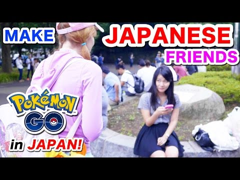 Can you MAKE JAPANESE FRIENDS with POKEMON GO?|Meeting Japanese People in Yoyogi Park|ポケモンGOで友達作れるか?