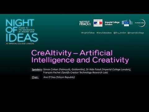 Night of Ideas | CreAItivity – Artificial Intelligence and Creativity