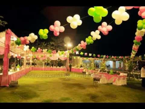 Outdoor party decorating ideas - YouTube