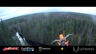 StuntFreaksTeam - Antti Pendikainen Motocross Base Jump from 40m
