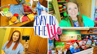 Day In The Life Vlog of a Stay at Home Mom | Walmart Haul | Dollar Tree Haul