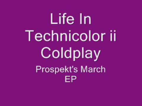 Life In Technicolor ii Coldplay lyrics