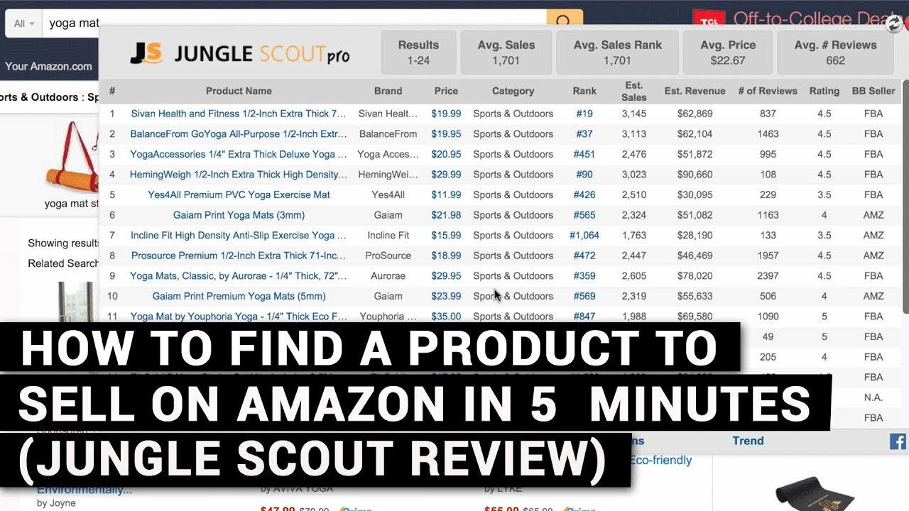 The Idiot's Guide To jungle scout web app Explained