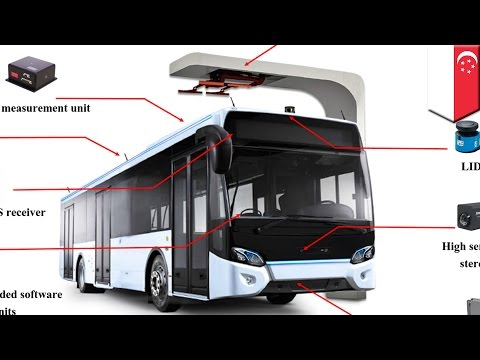 Self-driving buses: Singapore announces plan to start testing autonomous buses in 2018 - TomoNews