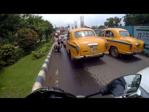 2017-08-23- monsoon in Kolkata - Tollygunge to Saltlake | Camera testing