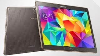 Samsung Galaxy Tab S Hands-On Preview - 2560X1600 Gorgeous Super AMOLED Tablet Display