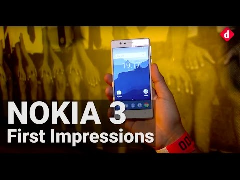 Nokia 3 First Impressions | Digit.in