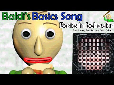 Baldi's Basics Song- Basics in Behavior [Blue] l Launchpad Pro Cover