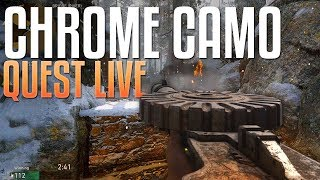 Lewis LMG: Chrome Camo Quest #12 (Call of Duty: WW2 Gameplay Stream)
