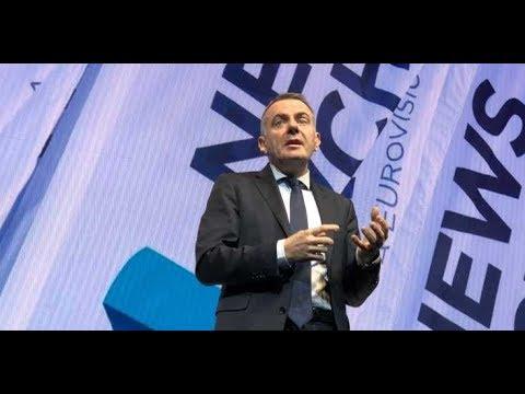EBU DG Noel Curran Opens News Xchange 2018