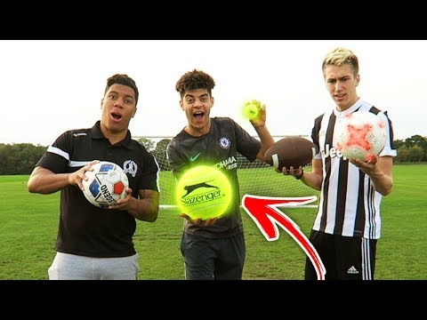 CRAZY MULTI-BALL FOOTBALL CHALLENGE WITH MINIMINTER!
