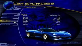 Need for Speed III: Hot Pursuit - Jaguar Sport  XJR-15 Showcase