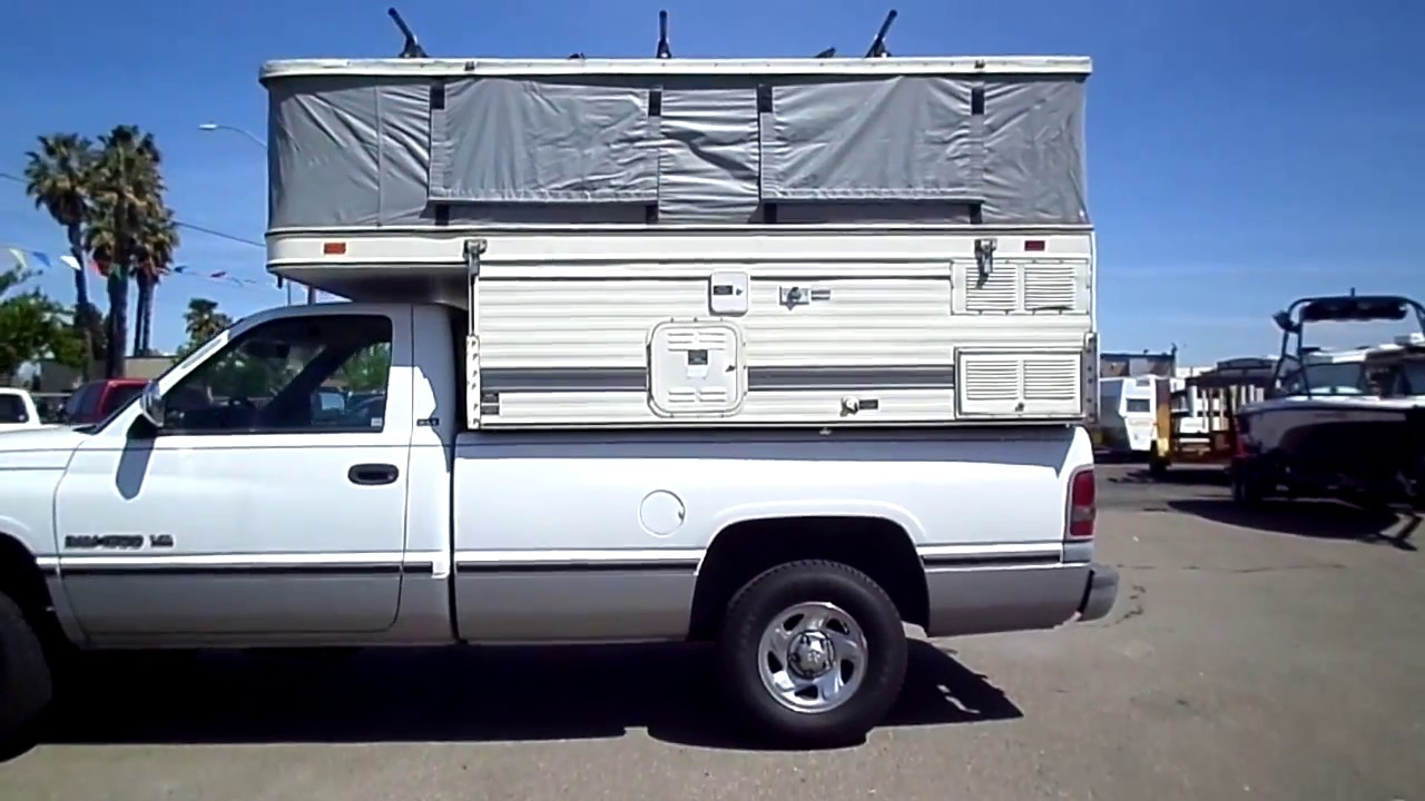 Cab-Over Camper Pop-Up for Sale in Lodi CA
