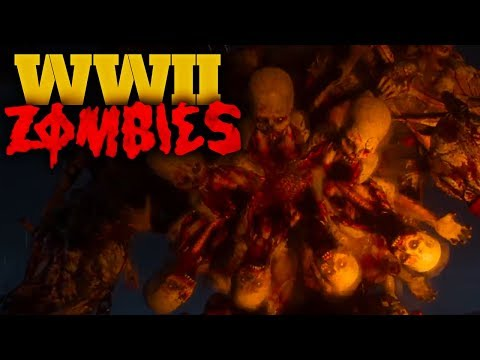 "WW2 ZOMBIES *FIRST BOSS FIGHT* GAMEPLAY ~ ""THE FINAL REICH"" EASTER EGG!!!"