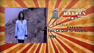Celine Dion Fais Ce Que Tu Voudras 1986