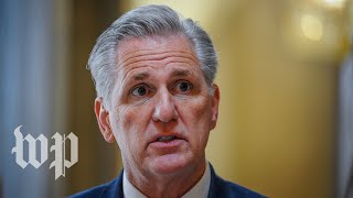 WATCH: McCarthy and GOP leadership hold news conference