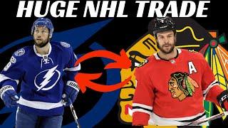 Breaking News - Huge NHL Trade - Lightning Trade Tyler Johnson to Chicago for Brent Seabrook