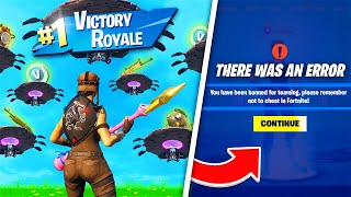 I Tested Every Wąy To Get Banned In Fortnite...