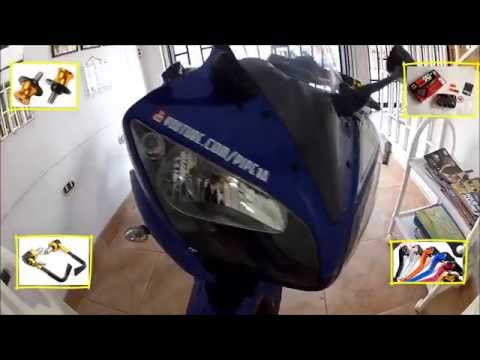 ''ACCESORIOS YAMAHA R15'', GoPro 2, Video HD