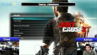 PS3 Live Stream with Adrian and Chad - Finishing Just Cause 2 - Part 26