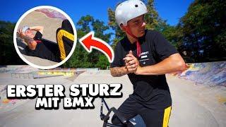 erster HEFTIGER STURZ mit BMX 😱