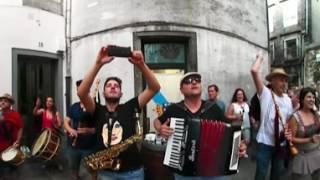 360 - danza e xota de lousame - santiago de compostela - música en la calle (2016)
