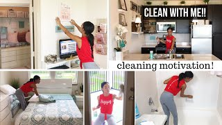 CLEANING MOTIVATION // CLEAN WITH ME 2018 // SAHM // CLEANING ROUTINE