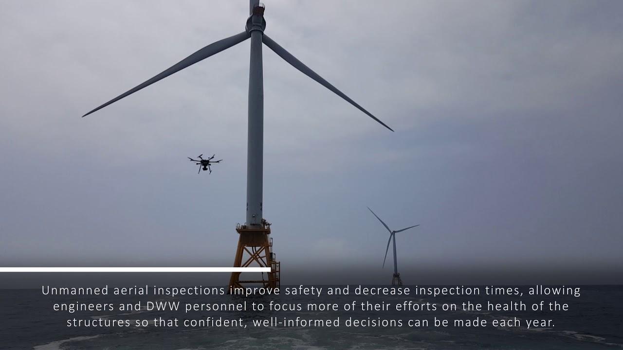 UAS Inspection of Offshore Wind Turbine Foundations - ULC Robotics