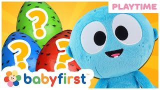 Playtime w Animal Sounds & Baby First Words   Toddler Learning Video w GooGoo Baby   BabyFirst TV