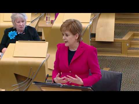 First Minister's Questions - 8 February 2018