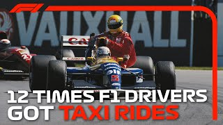 12 Times F1 Drivers Got Taxi Rides