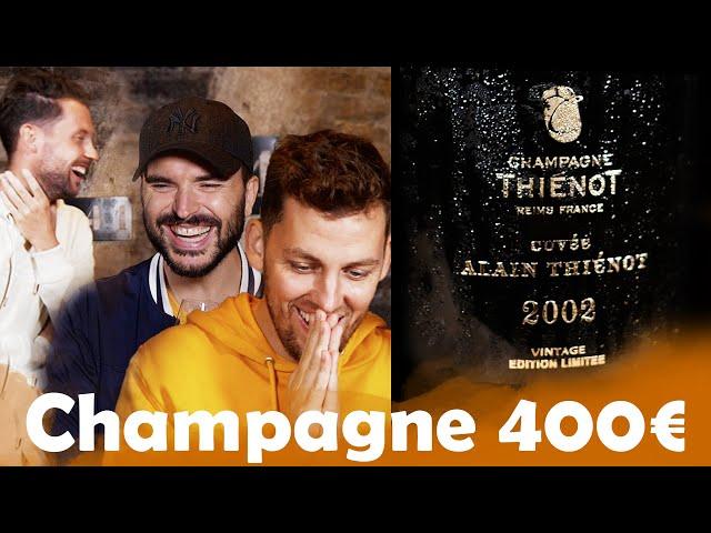 Champagne à 30€ VS Champagne à 400€ avec Pierre Croce et Benjamin Verrecchia