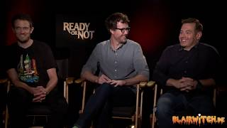 Matt Bettinelli-Olpin, Tyler Gillett & Chad Villella on READY OR NOT interview