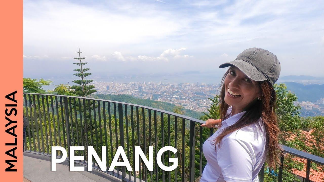 Penang Hill, beach & street food - Things to do in Penang, Malaysia | Vlog 3