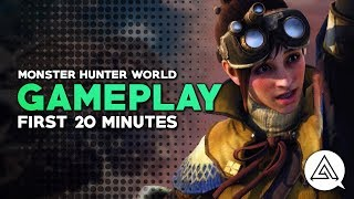 Monster Hunter World | First 20 Minutes - Gameplay Part 1