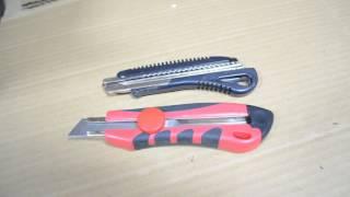 Ремонт ножа з отломным лезом 18 мм Intertool