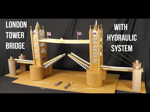 Hydraulic London Bridge Model | How To Make Tower Bridge | A1Schoolprojects.in