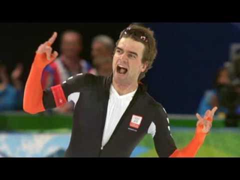 1500m Shani Davis commentaar Erben Wennemars OS2010 (Alleen geluid!)