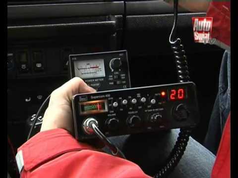 Radio CB - jak wybrać, jak zamontować...