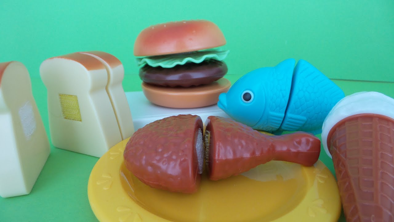 Speelgoed keuken hamburger set kids play kitchen hamb doovi for Kitchen set toys r us philippines