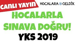 Hocalarla Sınava Doğru! YKS 2019