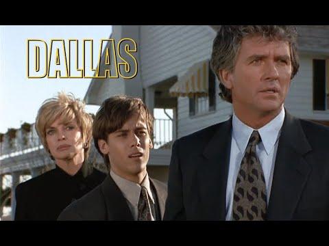 DALLAS - J.R fakes his own death...