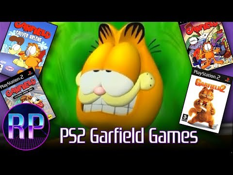 PlayStation 2 Garfield Games (Garfield, Garfield 2, Saving Arlene, Lasagna World Tour)