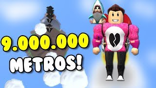 VOLAMOS 9,000,000 METERS WITH A JETPACK Roblox Cerso in Spanish