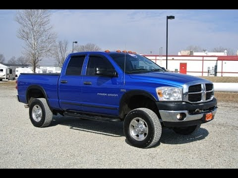 Lifted Dodge Power Wagon >> 2007 Dodge Ram 2500 Power Wagon Blue For Sale Dealer Dayton Troy Piqua Sidney Ohio | 27235BT ...