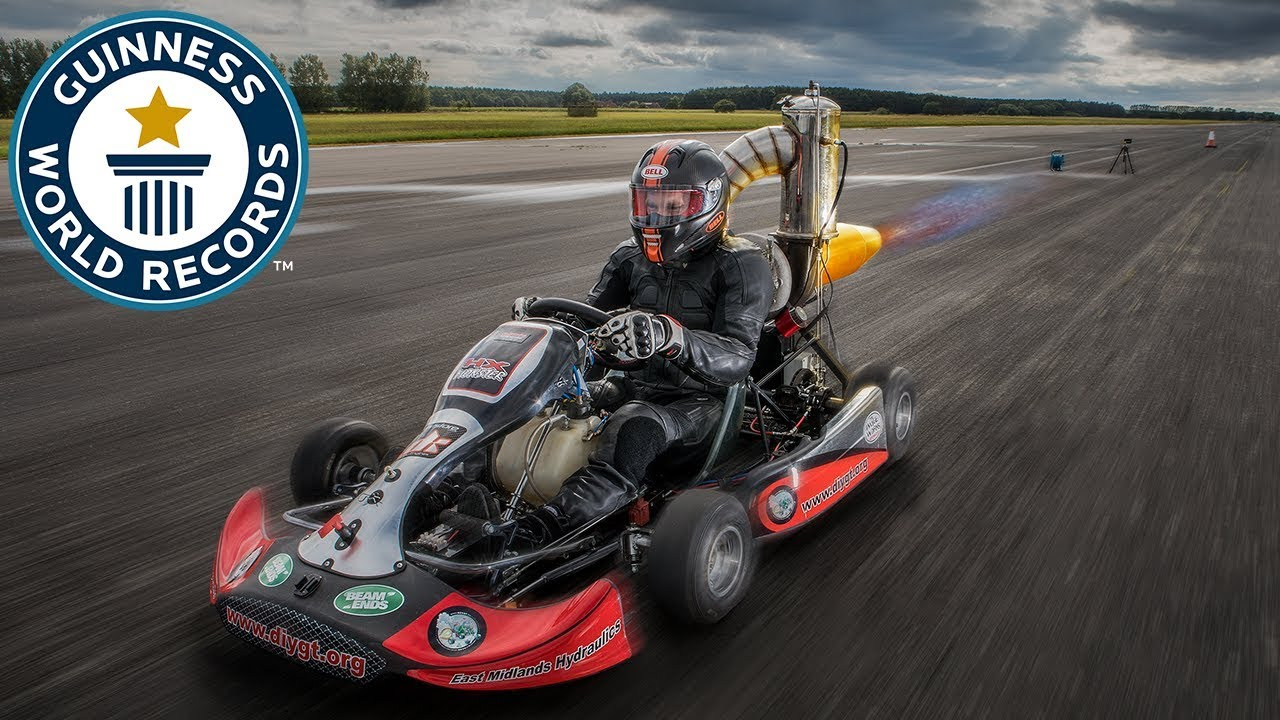 Fastest Jet In The World >> Tom Bagnall: Fastest jet-powered go-kart - Meet The Record ...