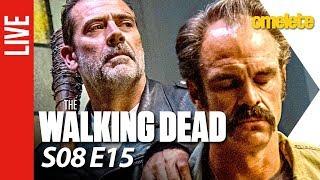 The Walking Dead Comentado - S08E15 | OmeleTV AO VIVO