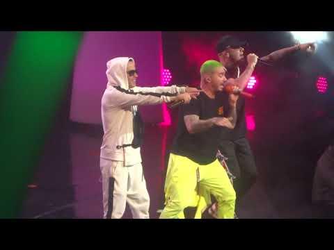 J.Balvin/Wisin And Yandel - Miami Arlines Arena - Florida - USA - Oct/28/2018