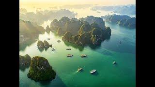 Hạ Long Bay: Emerald waters, Towering Limestone and Junk Boat Tours | Vietnam | Safari TV